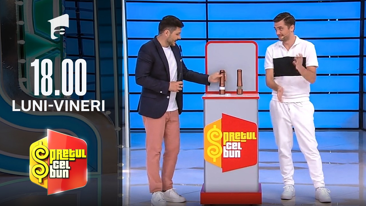 Preţul cel bun sezonul 1, 30 septembrie 2021. Liviu Vârciu a dat sarea pe jos. Ce a făcut prezentatorul emisiunii pentru a îndepărta orice superstiție: Ceartă!