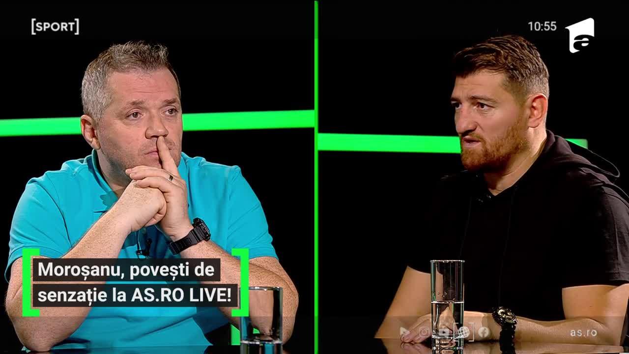 AS.ro LIVE - Ediția 183 - Cătălin Moroșanu