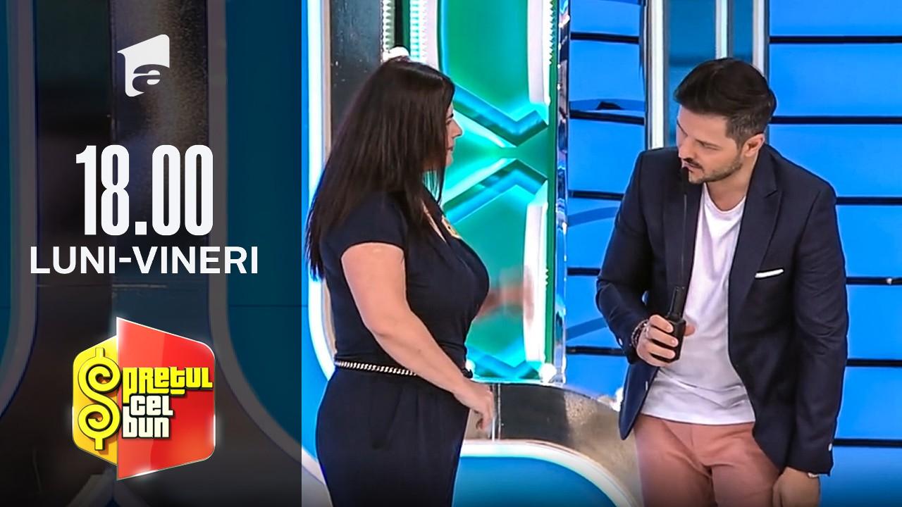 Preţul cel bun sezonul 1, 30 septembrie 2021. Liviu Vârciu, fermecat de o concurentă: Am început să mă topesc când stau lângă tine!