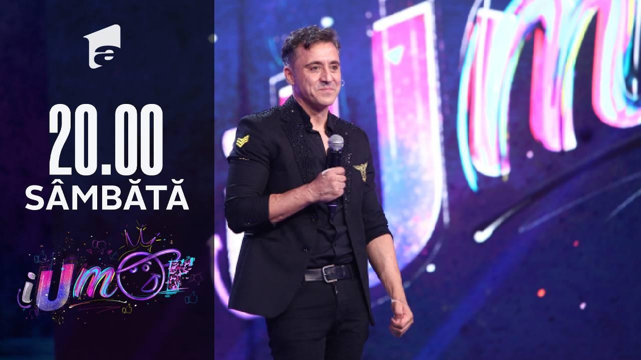 iUmor Sezonul 11, 2 octombrie 2021. Jurizare - Arkadio Jose