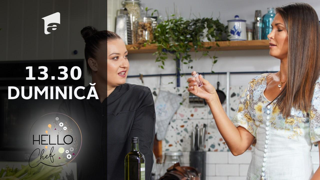 Hello Chef sezonul 2, 3 octombrie 2021. Roxana Blenche şi Alina Pușcaș prepară chifteluțe din pulpă de rață