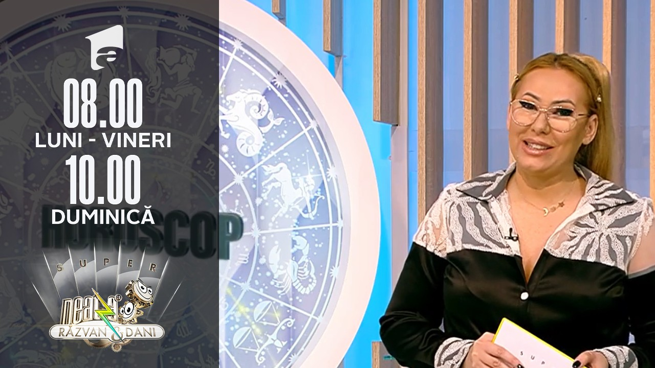Super Neatza de Weekend, 3 octombrie 2021. Horoscop cu Bianca Nuțu: Taurii fac schimbări în relații