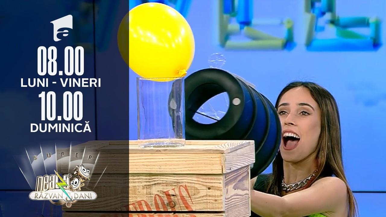 Super Neatza de Weekend, 3 octombrie 2021. Andra Gogan ia parte la ce mai tare provocare