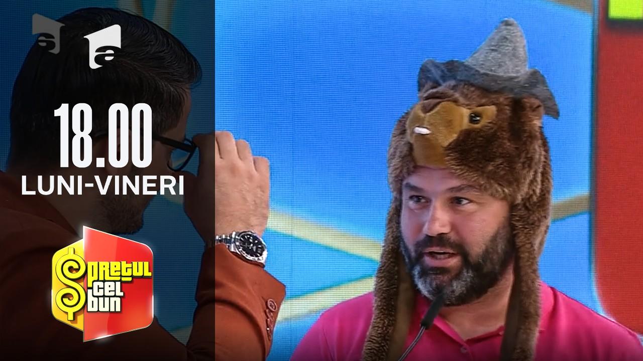 Preţul cel bun sezonul 1, 4 octombrie 2021. Concurentul cu căciulă cu cap de marmotă! Reacția lui Liviu Vârciu