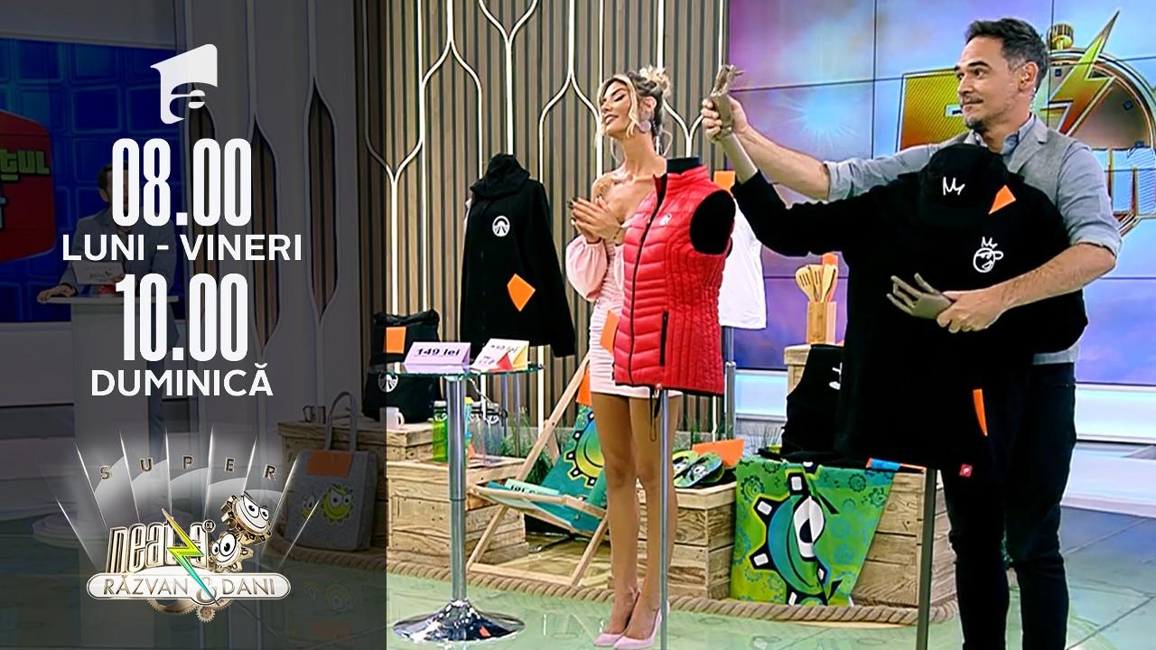 """Super Neatza, 4 octombrie 2021. Cristina a câștigat un super premiu la  """"Prețul cel bun"""""""