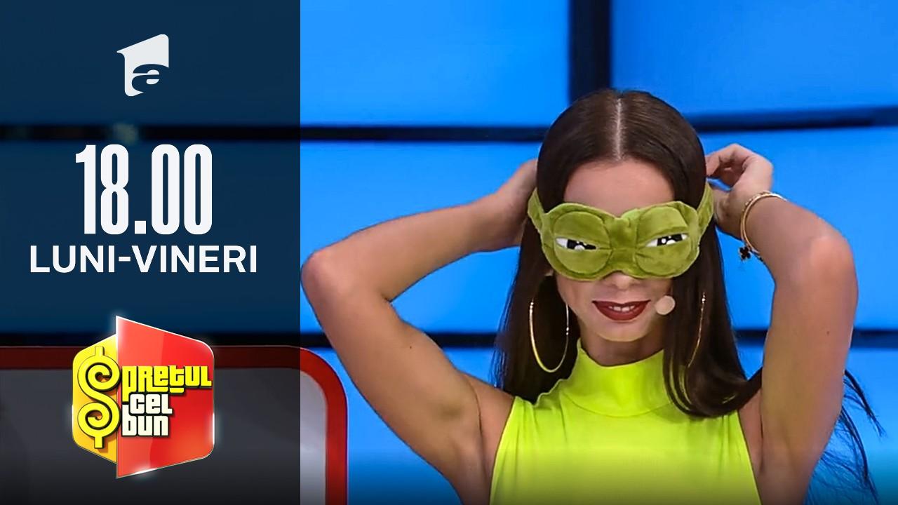 Preţul cel bun sezonul 1, 4 octombrie 2021. Reacția lui Liviu Vârciu când o vede pe Iuliana Luciu cu o mască de noapte cu ochi de broască!