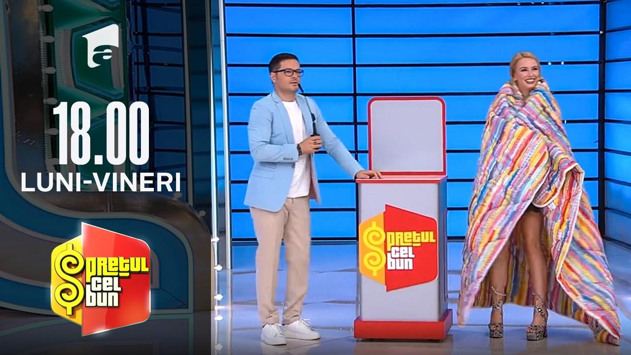 Preţul cel bun sezonul 1, 5 octombrie 2021. Andrei Ștefănescu a râs de Liviu Vârciu. De la ce au pornit replicile amuzante