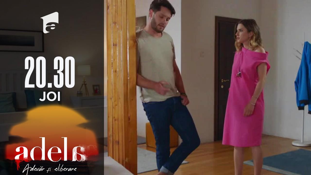 Adela sezonul 2, episodul 15, 7 octombrie 2021. Luca îi arată Liviei pozele cu Andreea și Adi, surprinși în pat!