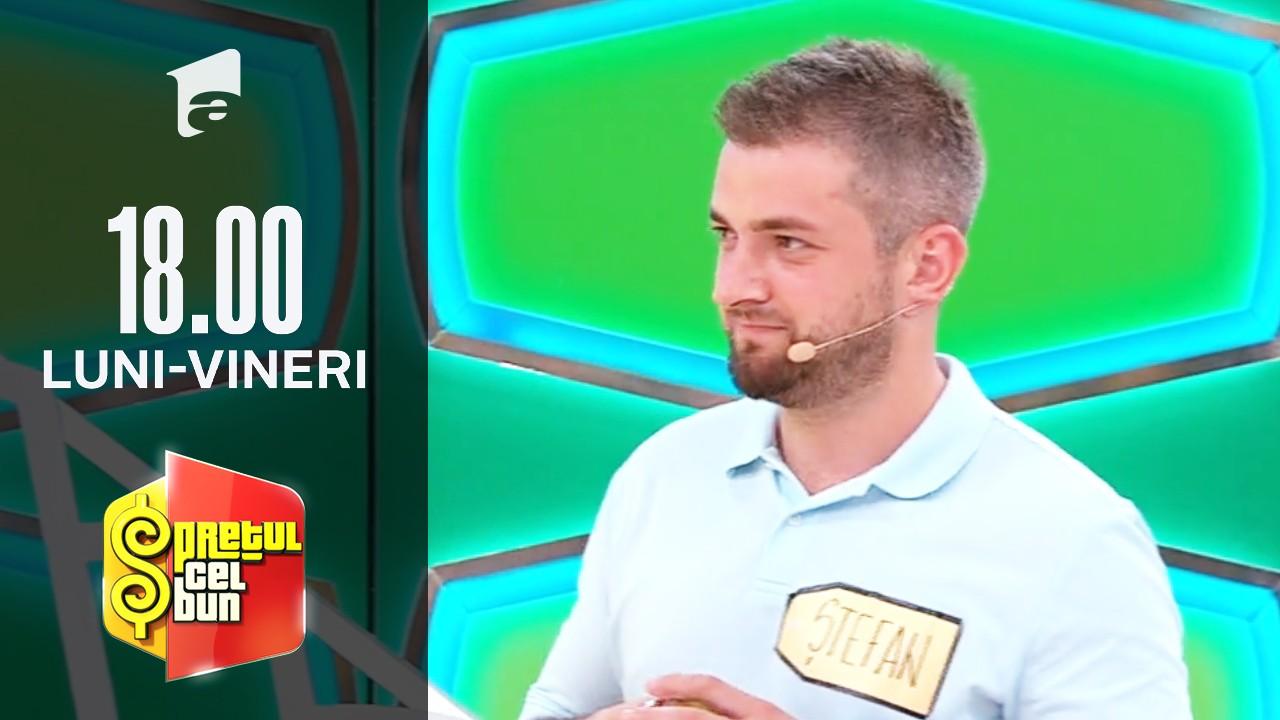Preţul cel bun sezonul 1, 7 octombrie 2021. Ștefan a câștigat 4.100 de lei