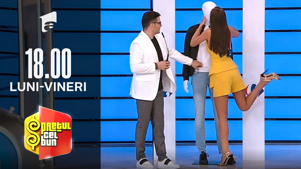 """Preţul cel bun sezonul 1, 7 octombrie 2021.  Iuliana Luciu și-a găsit """"iubit"""". Vedeta a sărutat!"""