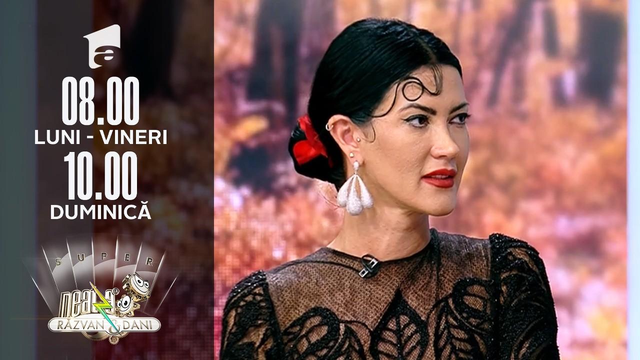"Super Neatza, 12 octombrie 2021. Mezzosoprana Andreea Ilie l-a ""certat"" pe Răzvan Simion"
