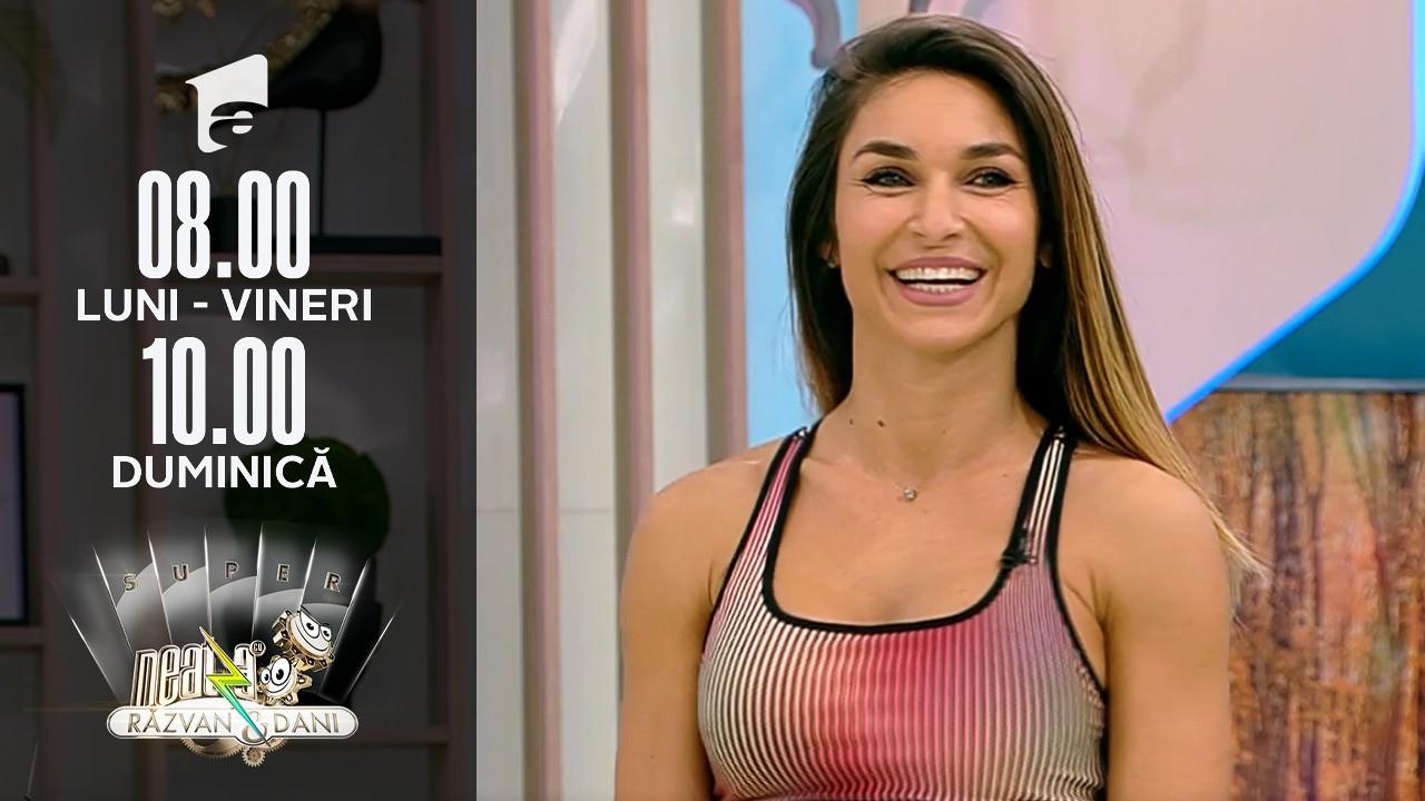 Super Neatza, 12 octombrie 2021. Fitness cu Diana Stejereanu: Antrenament inedit cu pet-ul de 2L de apă
