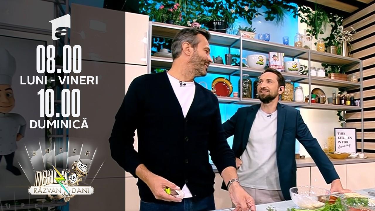 Super Neatza, 12 octombrie 2021. Frigărui de vită cu garnitură de varză de Bruxelles și gnocchi, rețetă lui chef Nicolai Tand