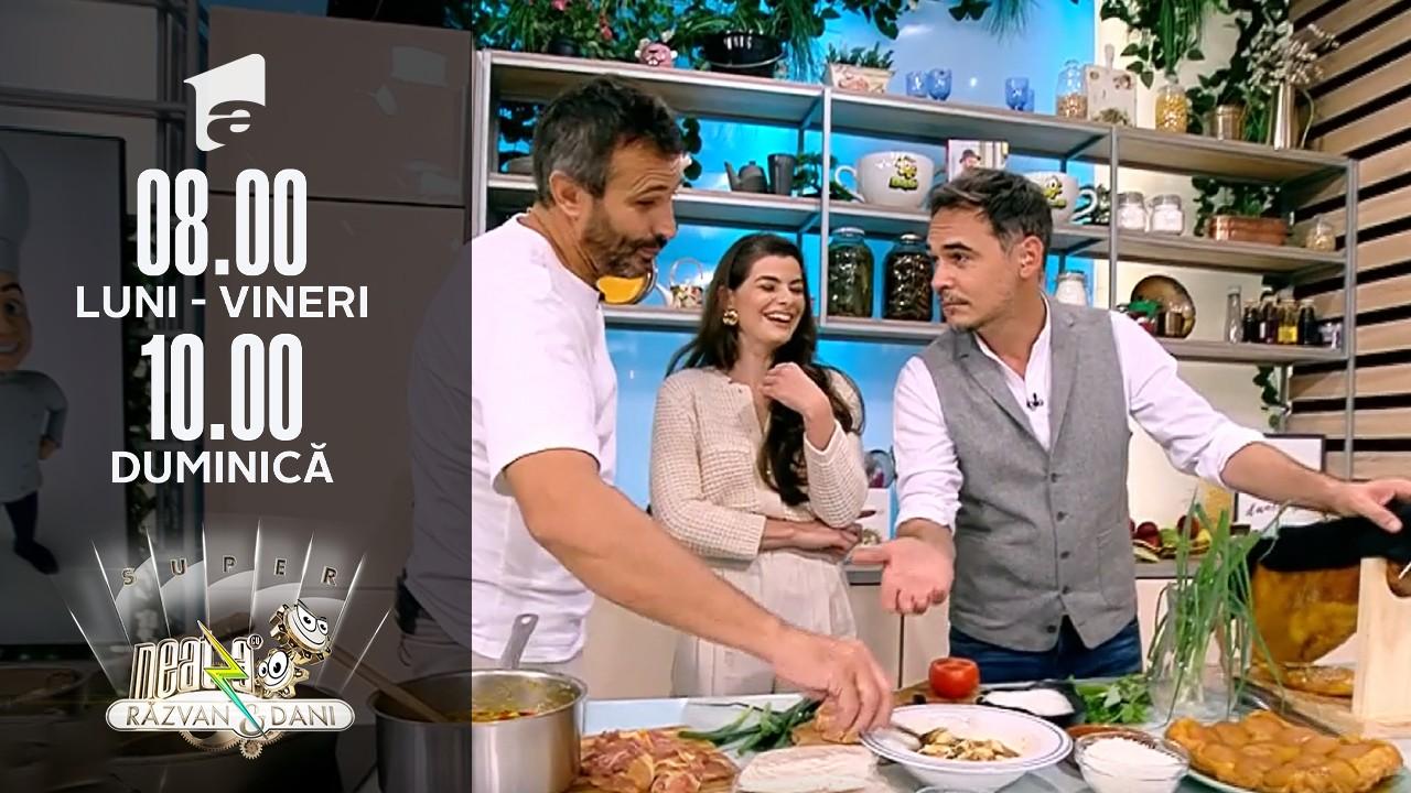 Super Neatza, 13 octombrie 2021. Udon Noodle cu curry de pui, rețetă lui chef Nicolai Tand