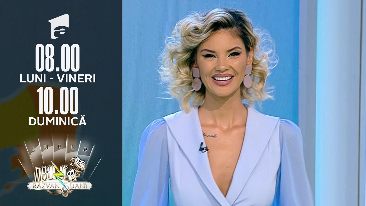 Super Neatza, 13 octombrie 2021. Meteo cu Ramona Olaru:  Tulcea și Constanța sunt sub cod portocaliu de ploi