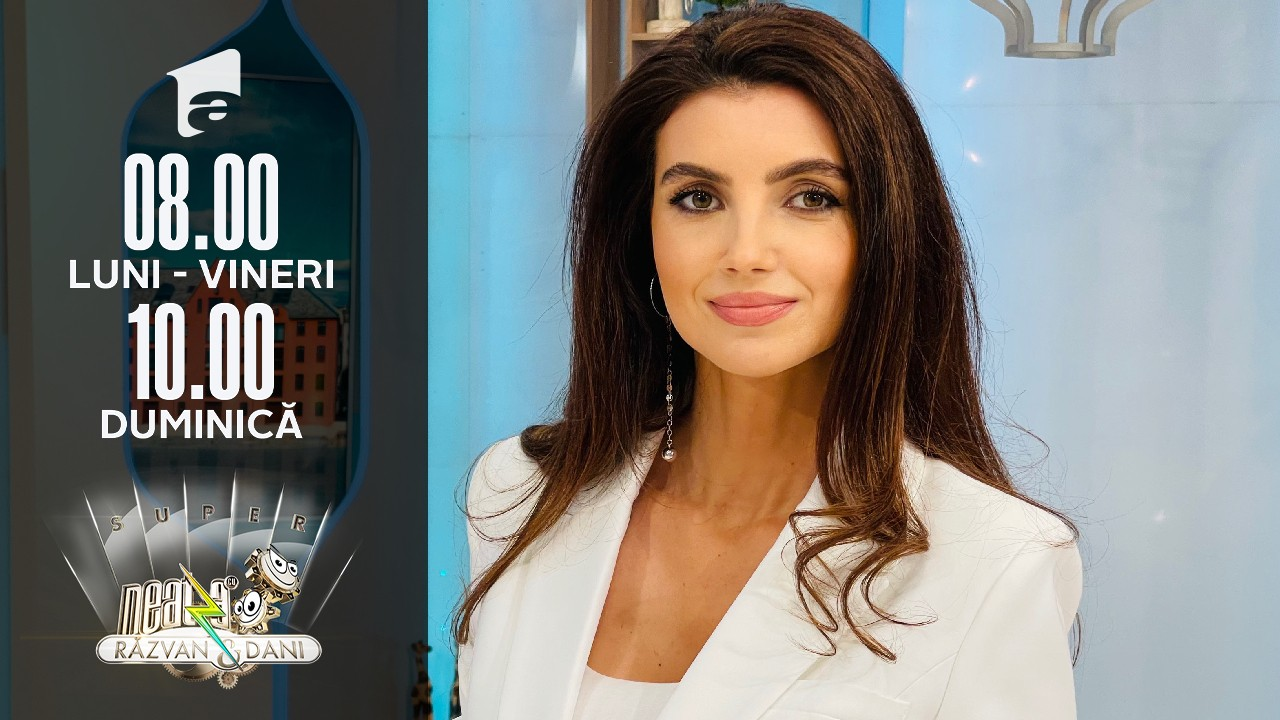 Super Neatza, 14 octombrie 2021. Ruxandra Antochi, super prezentare la Stil de Succes by Ellida Toma