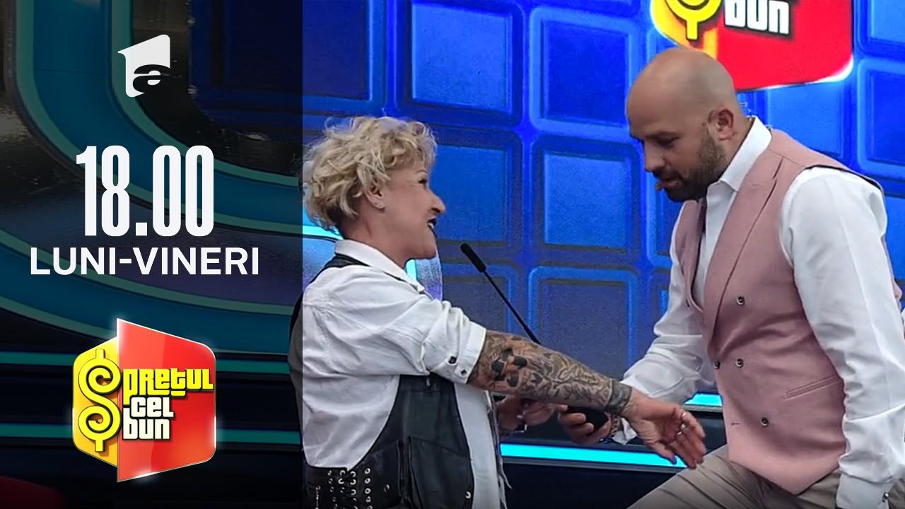 Preţul cel bun sezonul 1, 14 octombrie 2021. Concurenta care și-a făcut tatuaje la 50 de ani. Cum l-a surprins pe Andrei Ștefănescu
