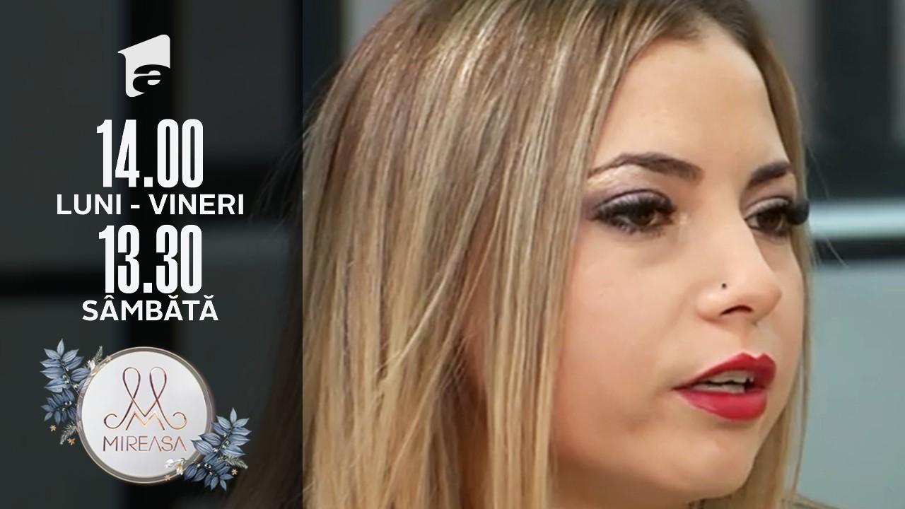Mireasa Sezonul 4, 14 octombrie 2021. Tensiuni maxime între Alina și Andrada, cu exemplele de rigoare!