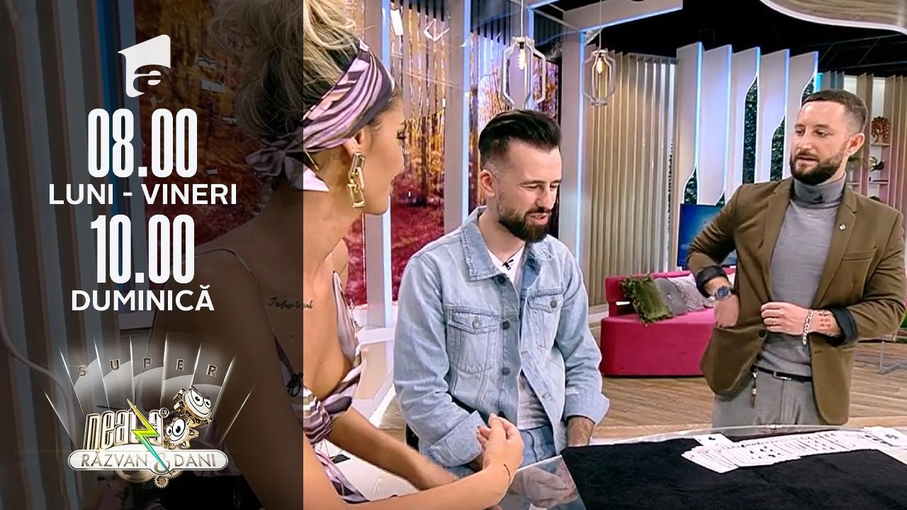 Super Neatza, 14 octombrie 2021. Andrei Gîrjob, numere spectaculoase de magie