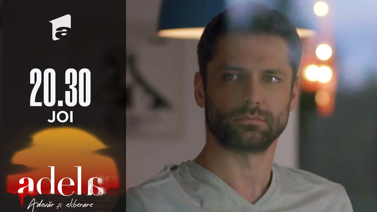 Adela sezonul 2, episodul 18, 14 octombrie 2021. Mihai își dă seama că Adela e fiica lui Paul Andronic