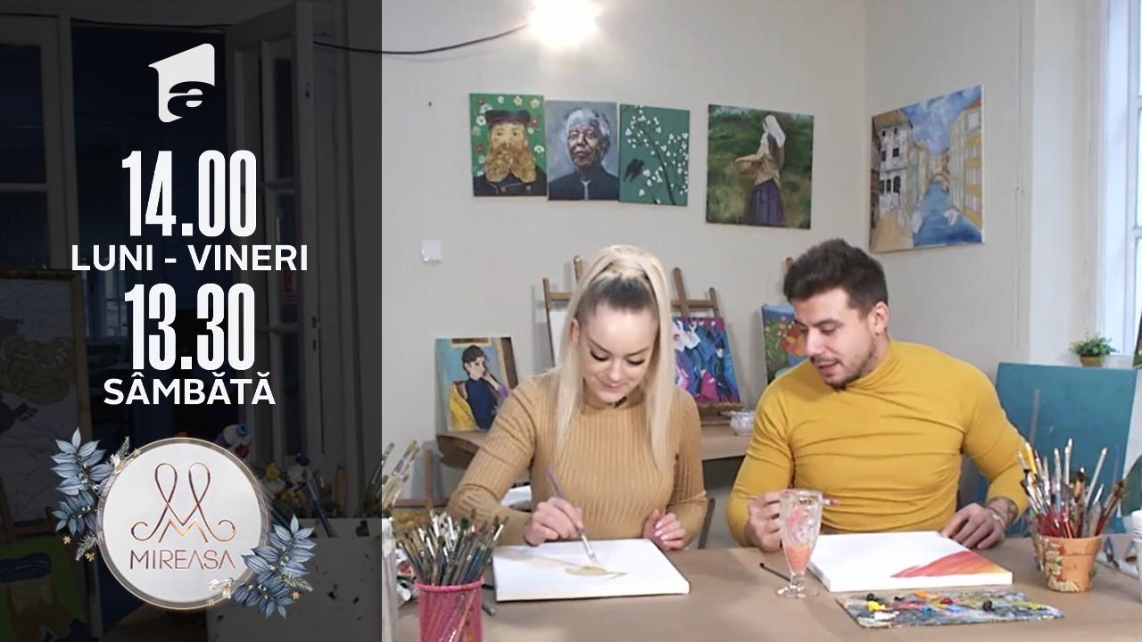 Mireasa Sezonul 4, 15 octombrie 2021. Raluca și Ion, o întâlnire colorată și binemeritată!