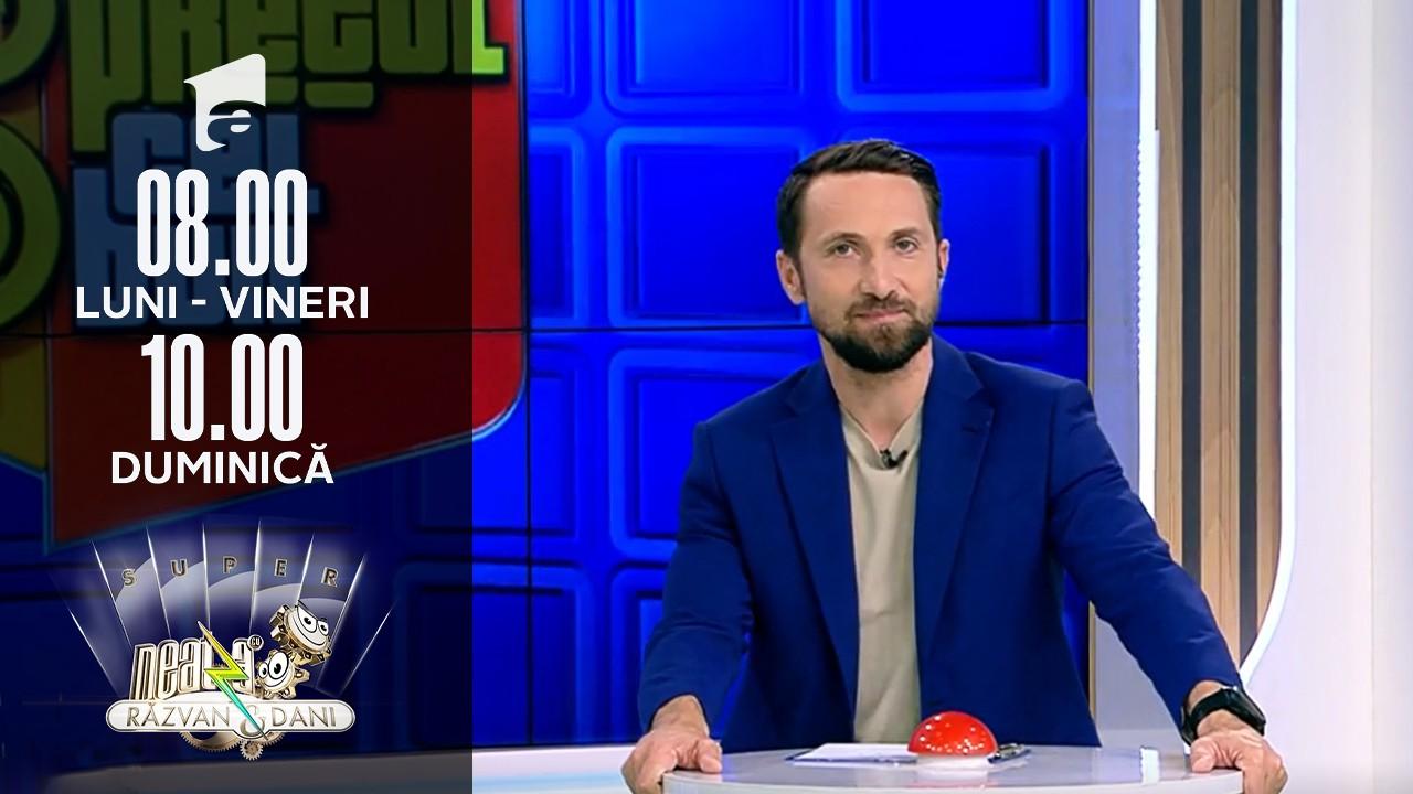 """Super Neatza, 15 octombrie 2021. Mimi a câștigat cartea """"Minciuna lui Michelangelo"""" la jocul """"Prețul cel bun"""""""