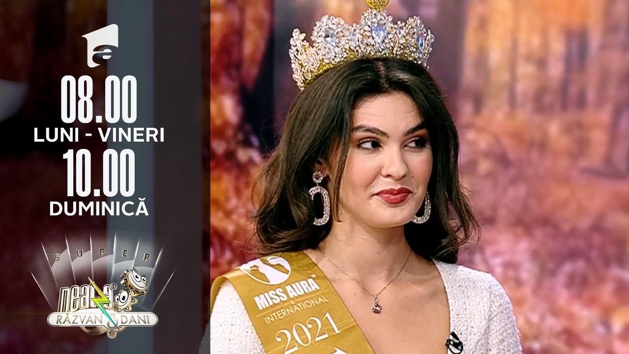 Super Neatza, 15 octombrie. Cine este Alexandra Stroe, Miss Supranational 2019 și Miss Aura International 1st runner up