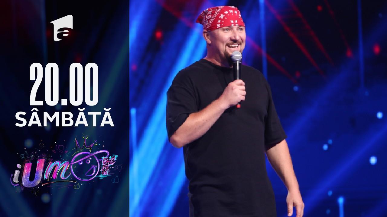 iUmor Sezonul 11, 16 octombrie 2021.  Doru Ivanov i-a făcut pe jurații iUmor să râdă cu poftă!