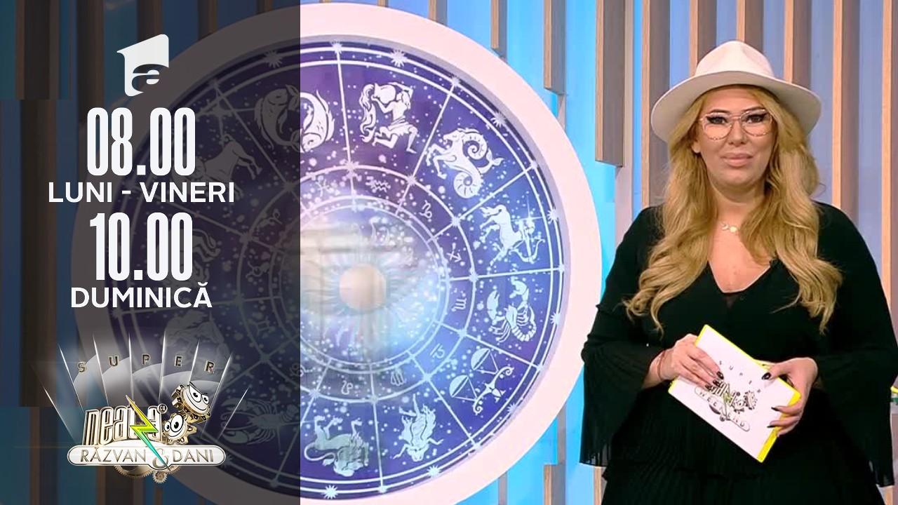 Super Neatza de Weekend, 17 octombrie 2021. Horoscopul Zilei cu Bianca Nuțu. Vărsătorii simt nevoia să renunțe la o relație