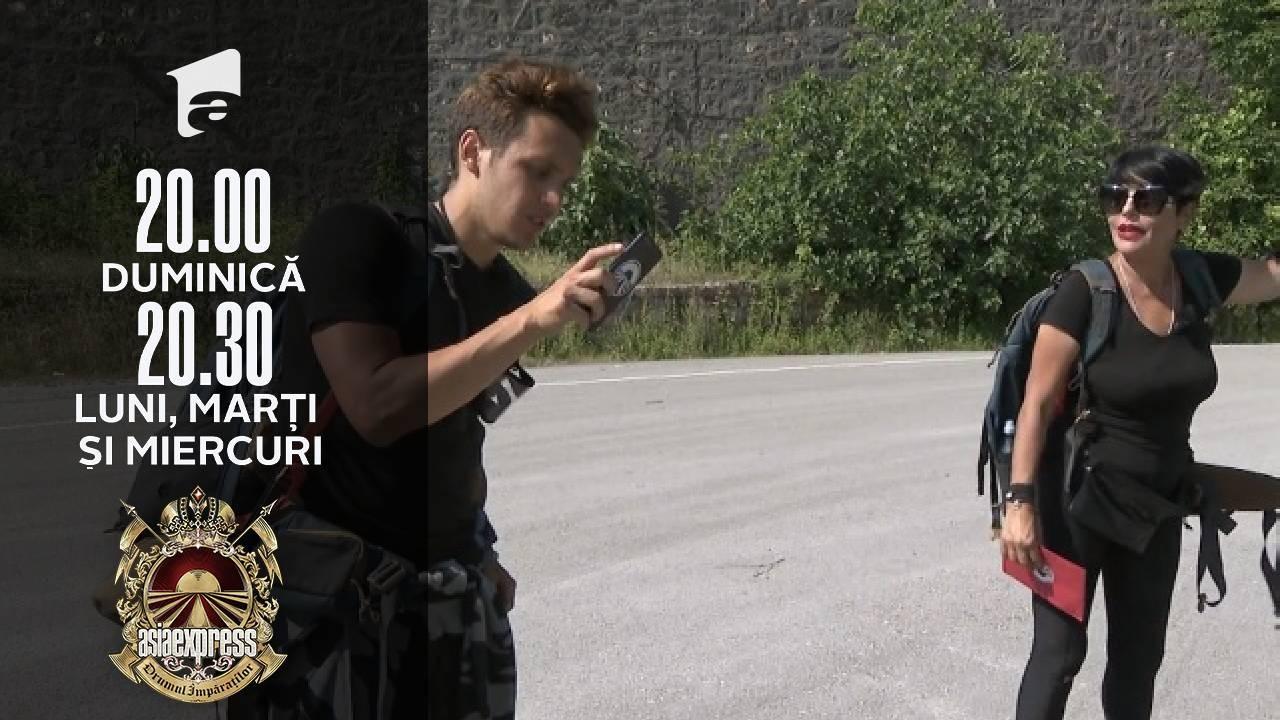 Asia Express sezonul 4, 18 octombrie 2021. Francesco a țipat la Patrizia. Ce i-a reproșat