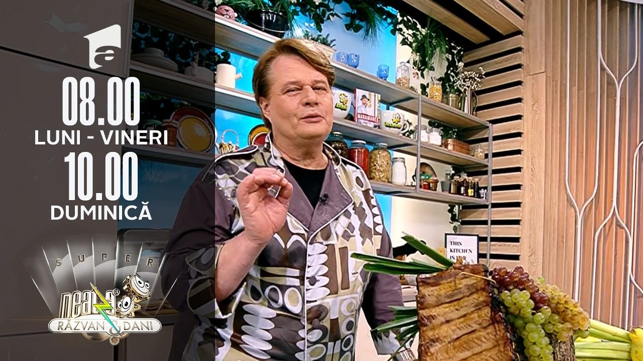 Super Neatza, 18 octombrie 2021. Praz cu măsline și afumătură