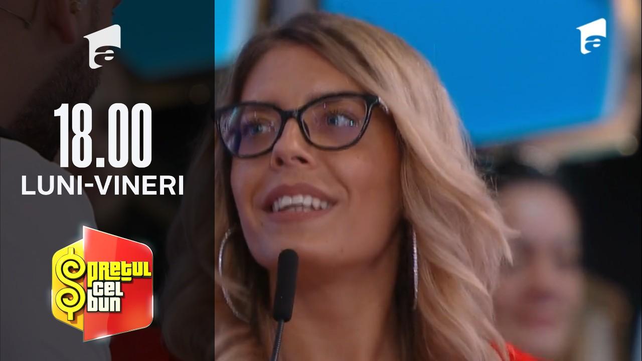 Preţul cel bun sezonul 1, 19 octombrie 2021. Andreea Bălan participă la Prețul cel bun. Concurenta dansează la fel de bine ca vedeta