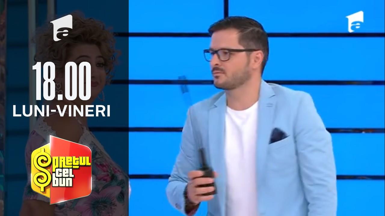 Preţul cel bun sezonul 1, 19 octombrie 2021. Liviu Vârciu este impresionat de genele atât de lungi ale unei concurente: Fac otită dacă mai clipești o dată!