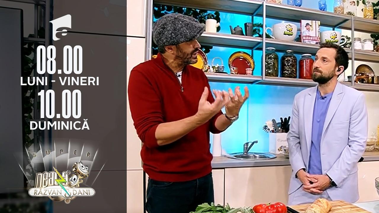 Super Neatza, 19 octombrie 2021. Ouă florentine cu spanac, rețetă lui chef Nicolai Tand