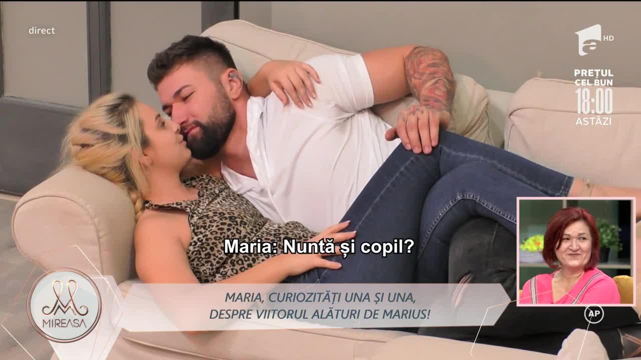Mireasa Sezonul 4, 20 octombrie 2021. Marius și Maria, despre nuntă și copil