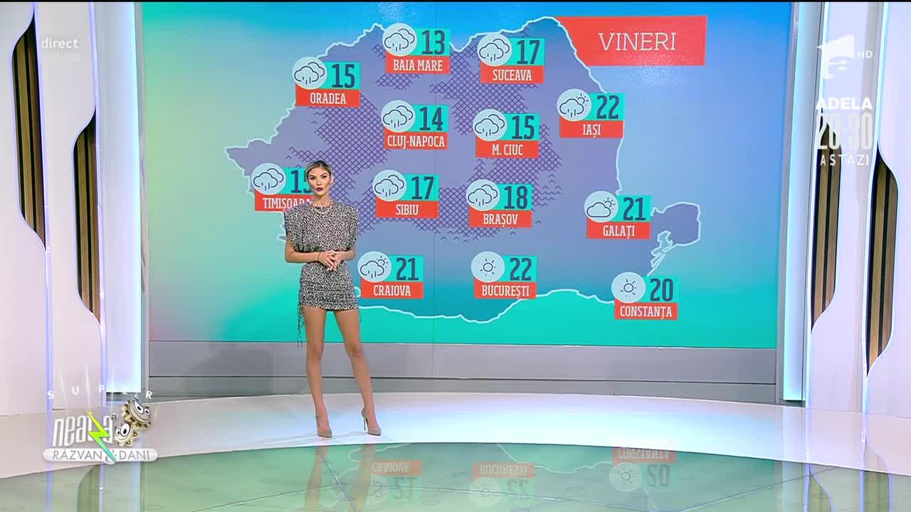 Super Neatza, 21 octombrie 2021. Meteo cu Ramona Olaru: Vremea se încălzește din ce în ce mai tare