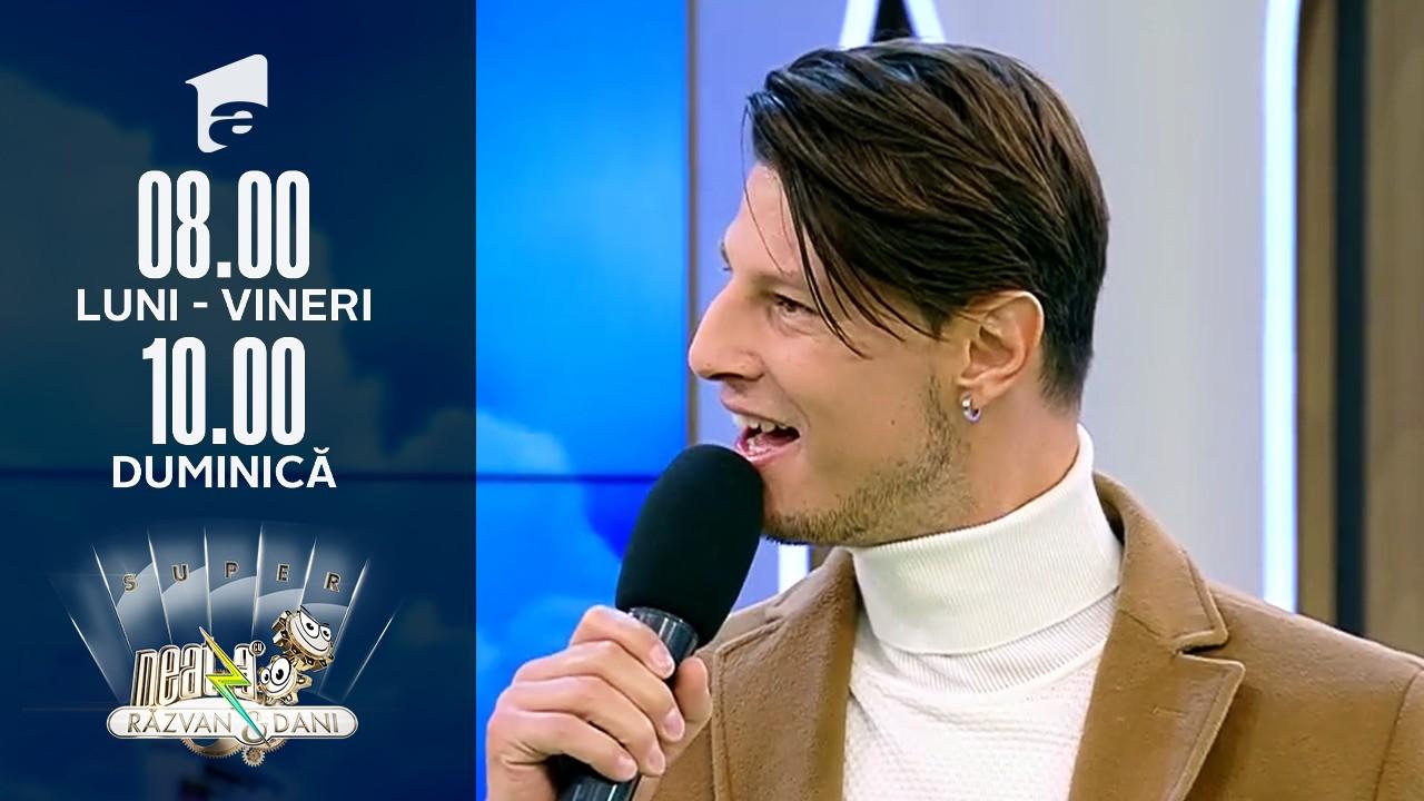 Super Neatza, 21 octombrie 2021. Nick Casciaro, italianul care a făcut spectacol pe scena X Factor: Sunt pentru a doua oară în România!
