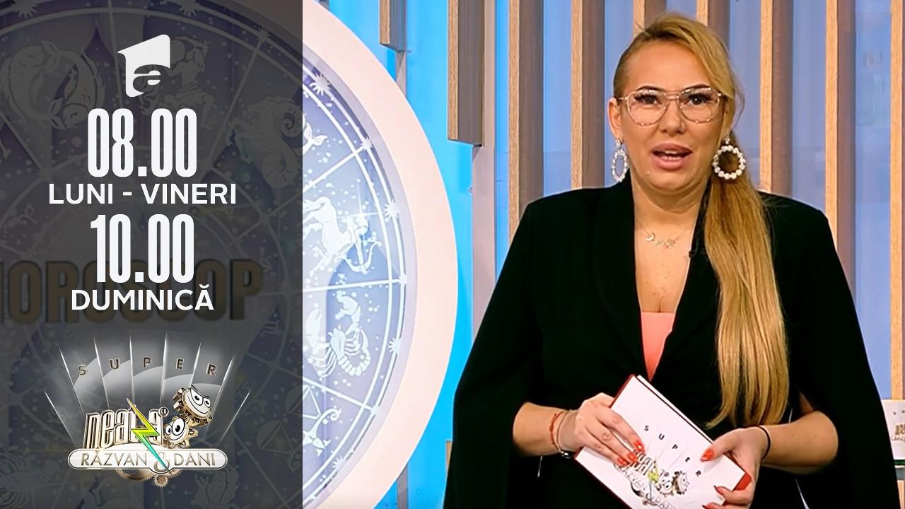 """Super Neatza, 21 octombrie 2021. Horoscopul Zilei cu Bianca Nuțu: Racii trebuie să învețe să spună """"Nu"""""""