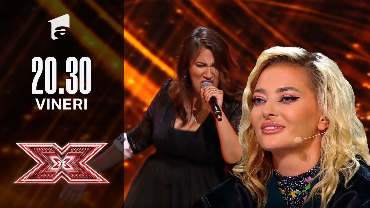 X Factor sezonul 10, 22 octombrie 2021. Valentina Martucci: Aretha Franklin - (You Make Me Feel Like) A Natural Woman
