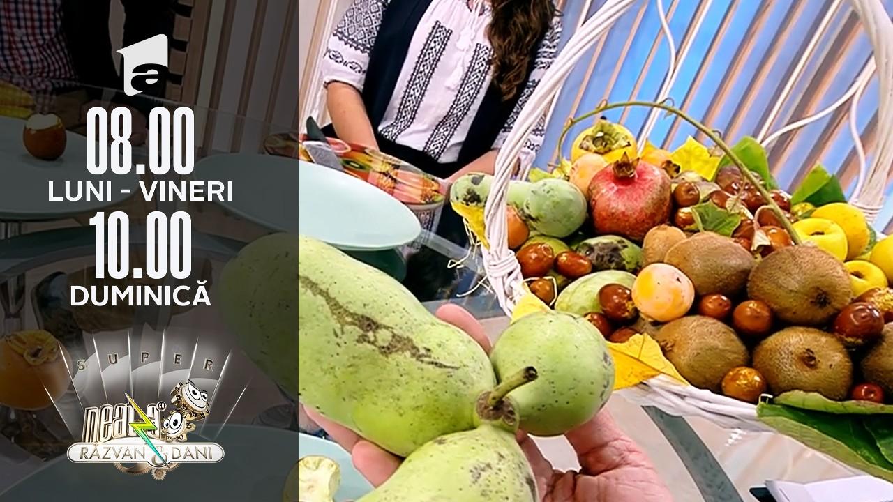Super Neatza, 22 octombrie 2021. Fructele exotice au mai multe vitamine și minerale decât celelalte fructe
