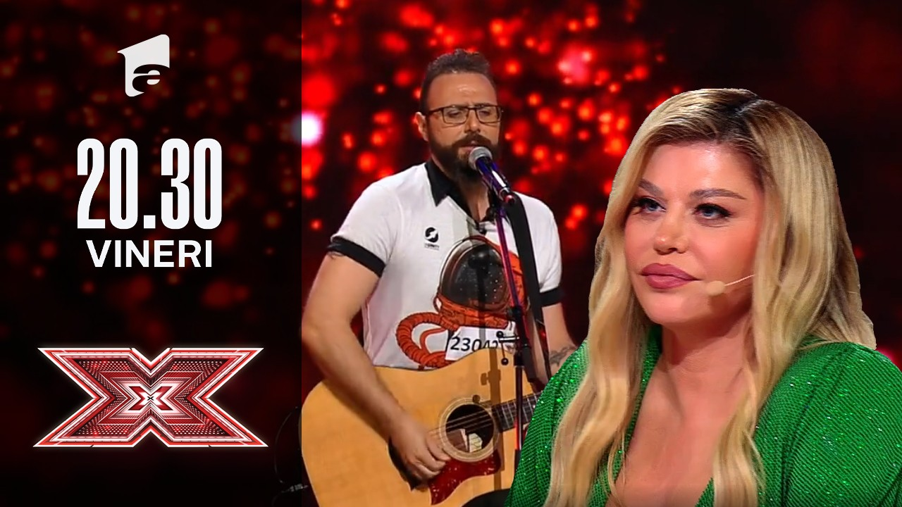 X Factor sezonul 10, 22 octombrie 2021. Elie Haddad - The Animals: House Of The Rising Sun