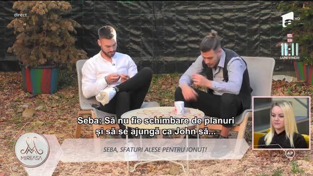 Mireasa Sezonul 4, 22 octombrie 2021. Deși nu a intrat încă în casa Mireasa, John a născut intrigi și speculații printre băieți