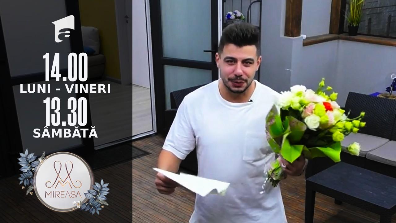 Mireasa Sezonul 4, 22 octombrie 2021. Ion, excel de zel, în numele iubirii, de față cu Raluca! Carmen i-a trimis o scrisoare