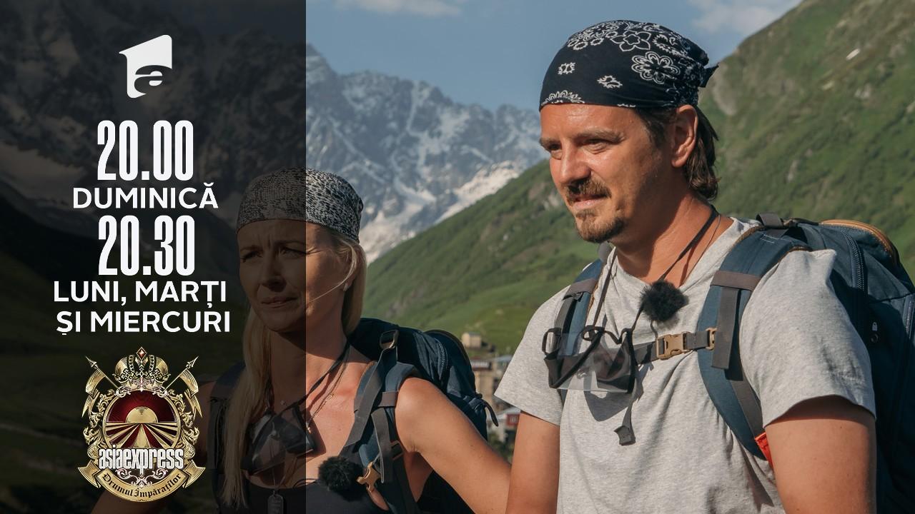 Asia Express sezonul 4, 25 octombrie 2021. Mihai Petre, cerere neașteptată pentru Irina Fodor. Ce vrea să schimbe în show