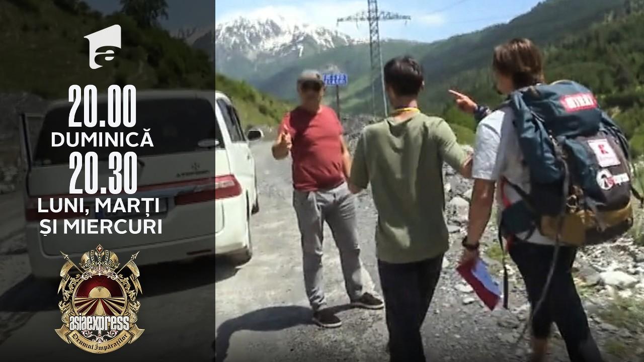 Asia Express sezonul 4, 25 octombrie 2021. Mihai Petre, la un pas să se bată cu un șofer!