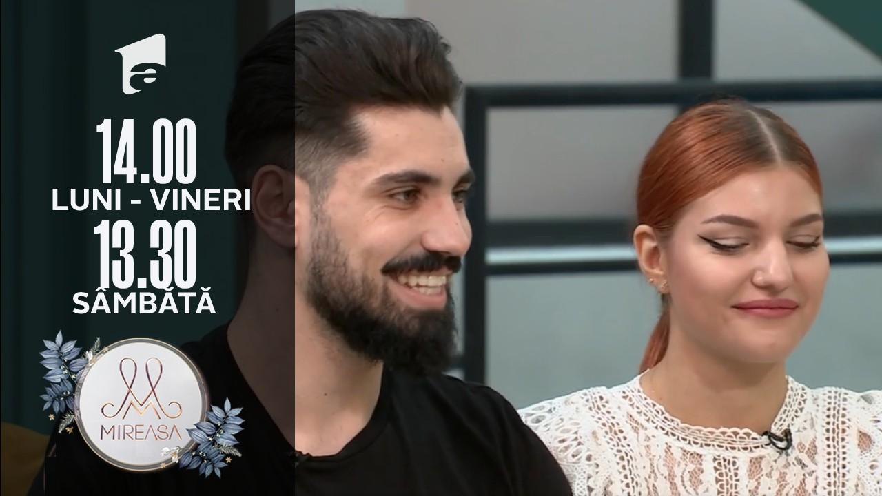 Mireasa Sezonul 4, 25 octombrie 2021. Alex și Ana, despre subiectul căsătoriei!