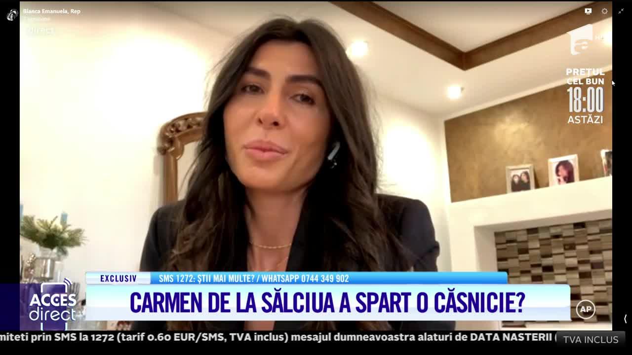 Carmen de la Sălciua este acuzată că ar fi spart o căsnicie!