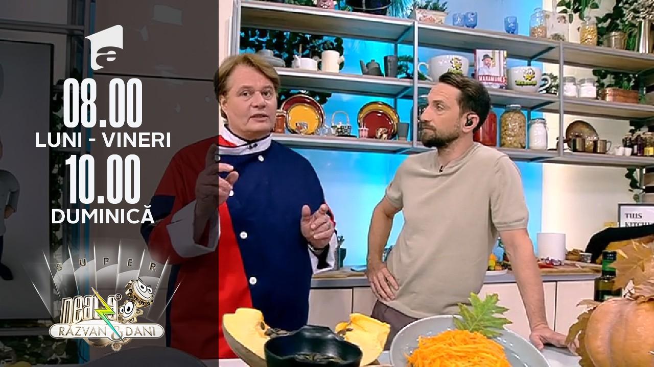 Super Neatza, 25 octombrie 2021, rețeta lui Vladuț: Pâinea cu dovleac