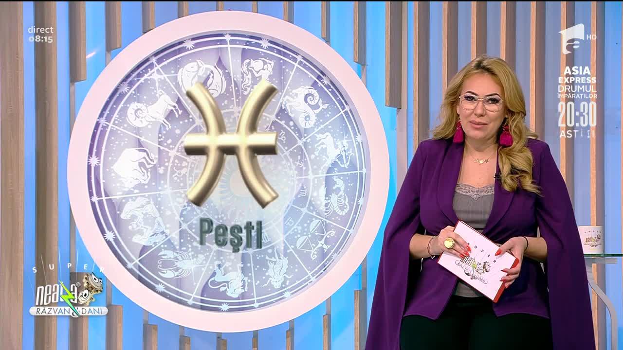 Super Neatza, 26 octombrie 2021. Horoscopul Zilei cu Bianca Nuțu: Racii își pierd încrederea în unii colegi de birou
