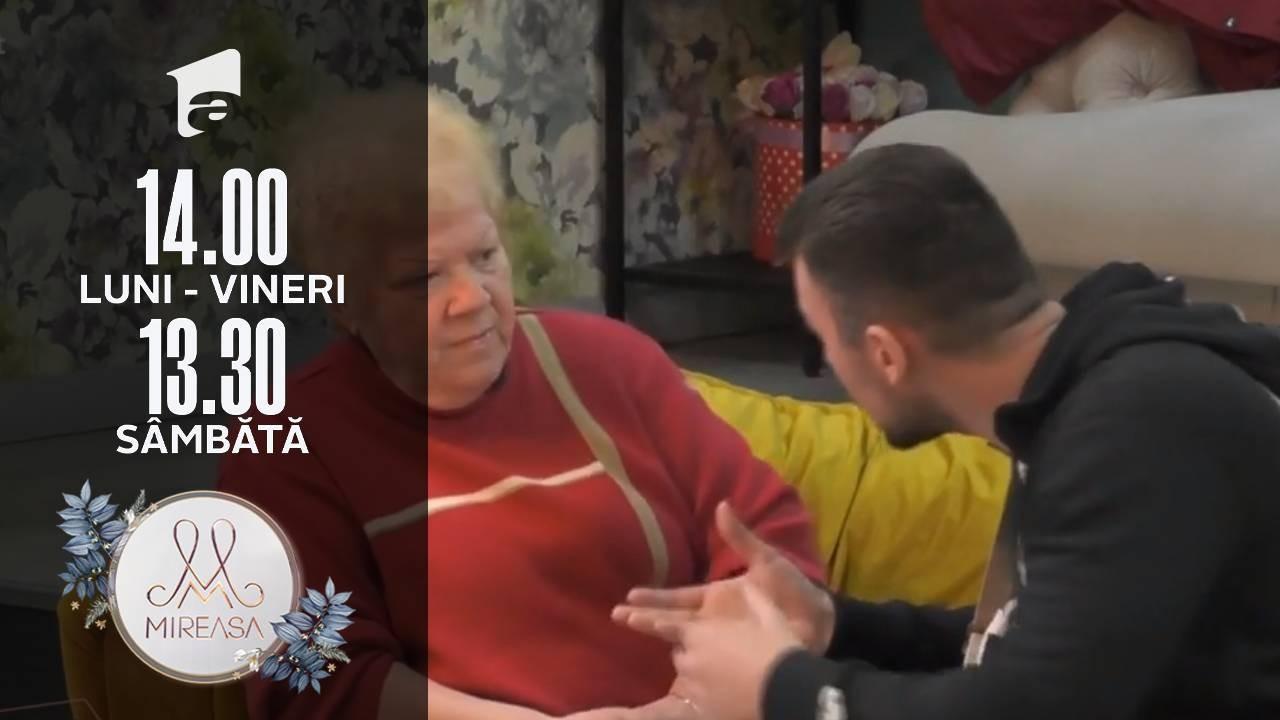 Mireasa Sezonul 4, 26 octombrie 2021. Alina și Buni Lenu, o relație care vorbește de la sine!